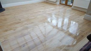 wood floor polishing & cleaning in London